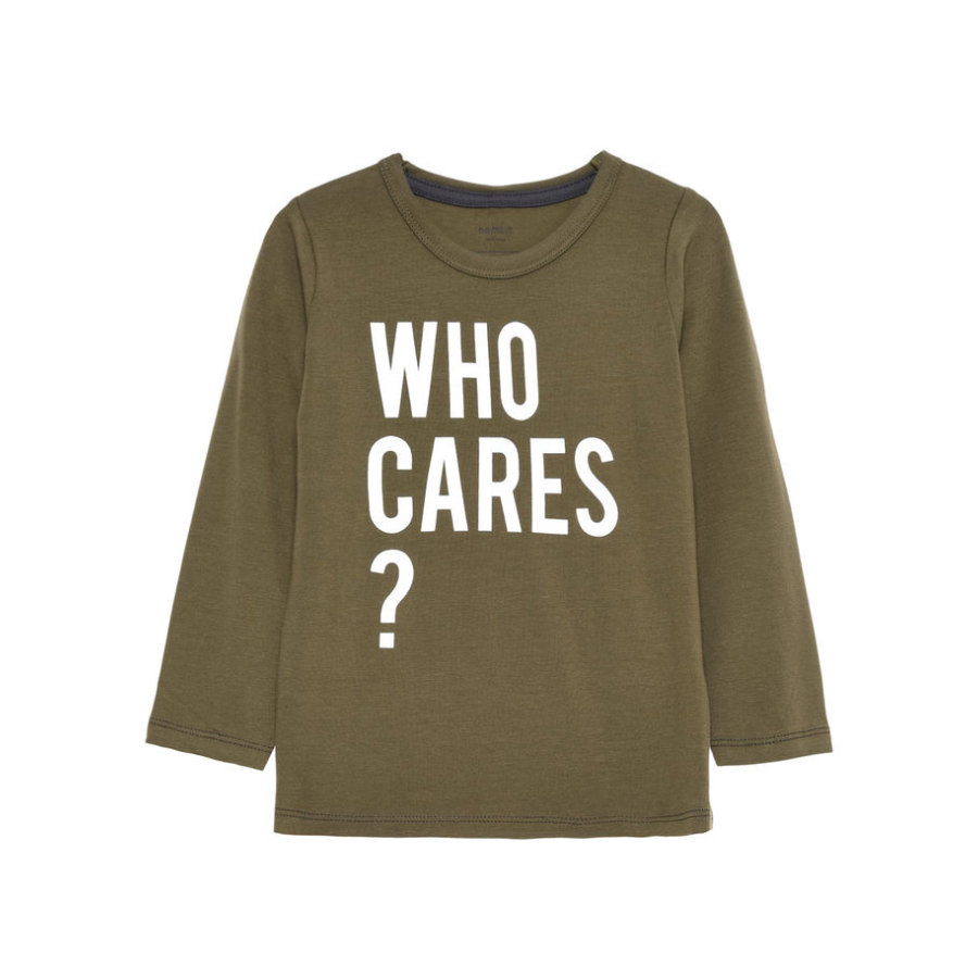 name it Boys Longsleeve Hokus ivy green
