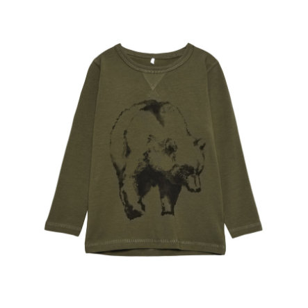name it Boys Longsleeve Vux ivy green