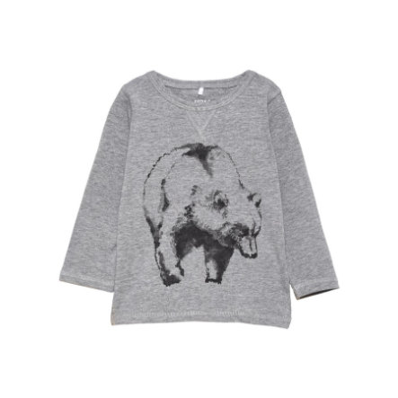 name it Boys Longsleeve Vux grey melange