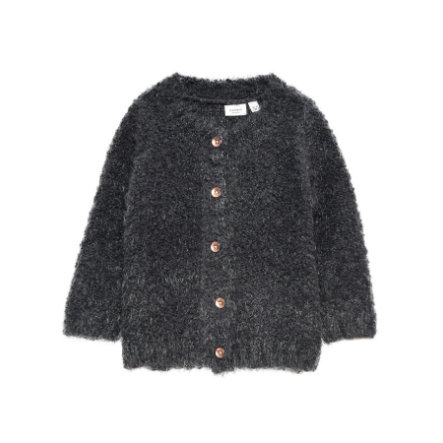 name it Girl s Cardigan en asphalte Nisilla