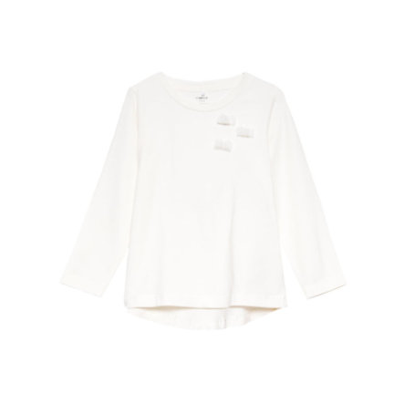 name it Girls Longsleeve Safa snow white