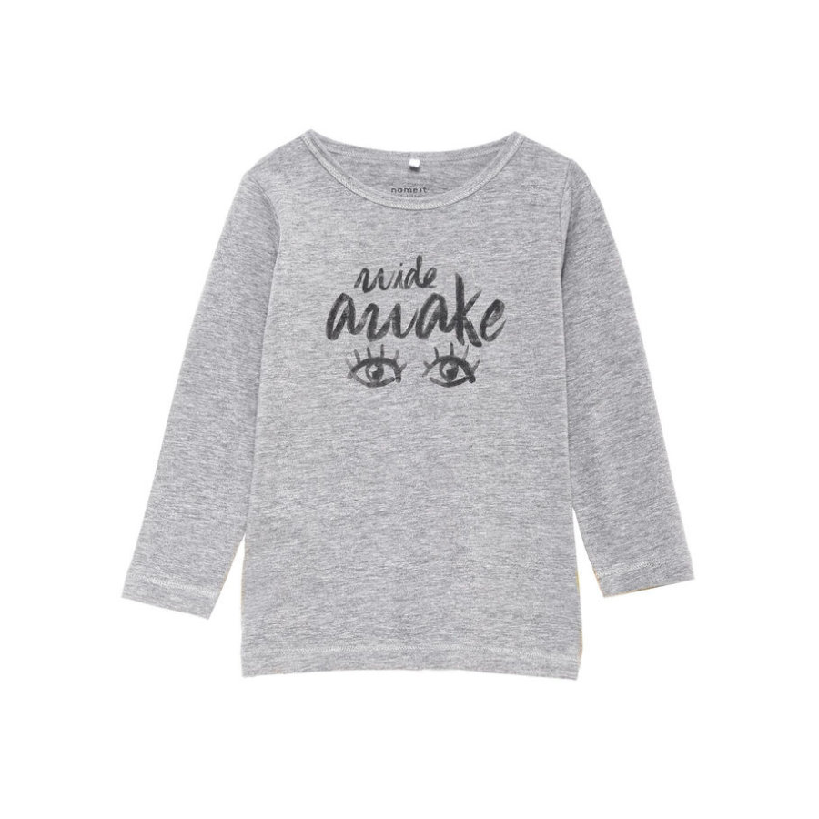 name it Girls Longsleeve Sonja grey melange