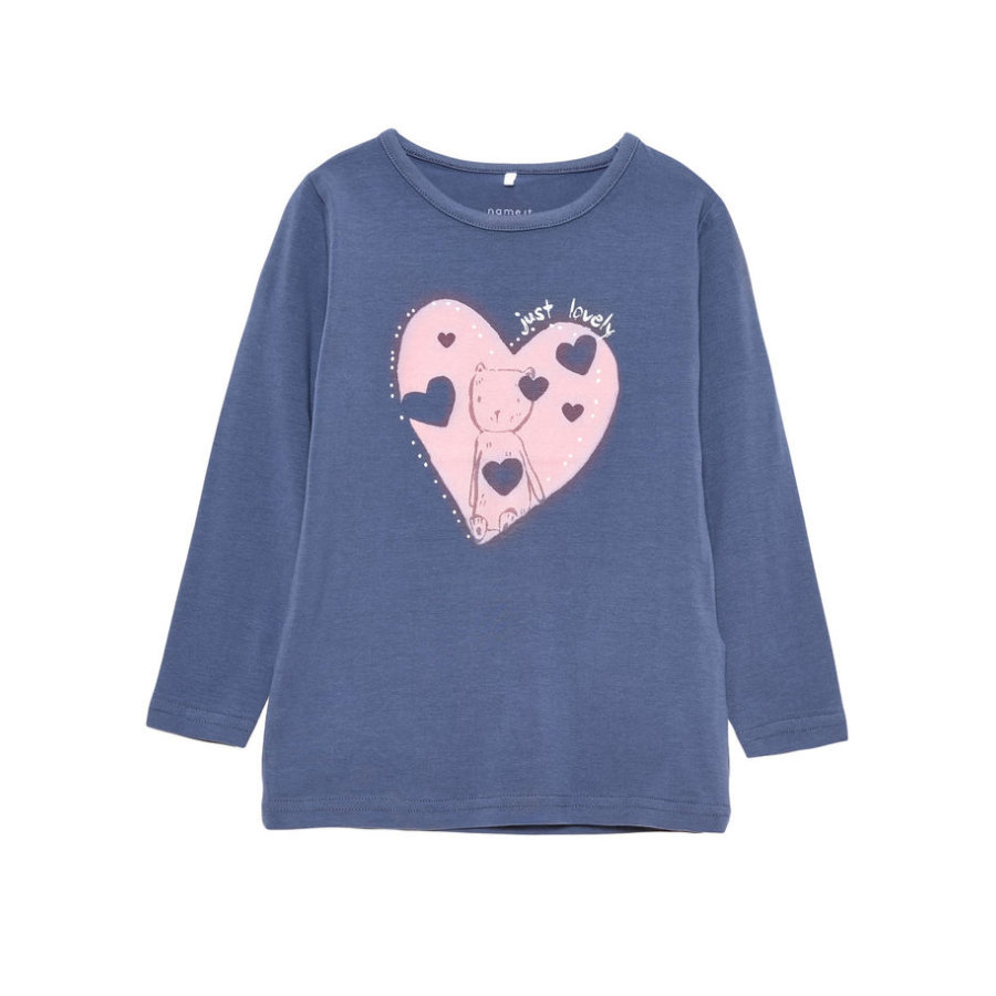 name it Girls Longsleeve Vixus vintage indigo