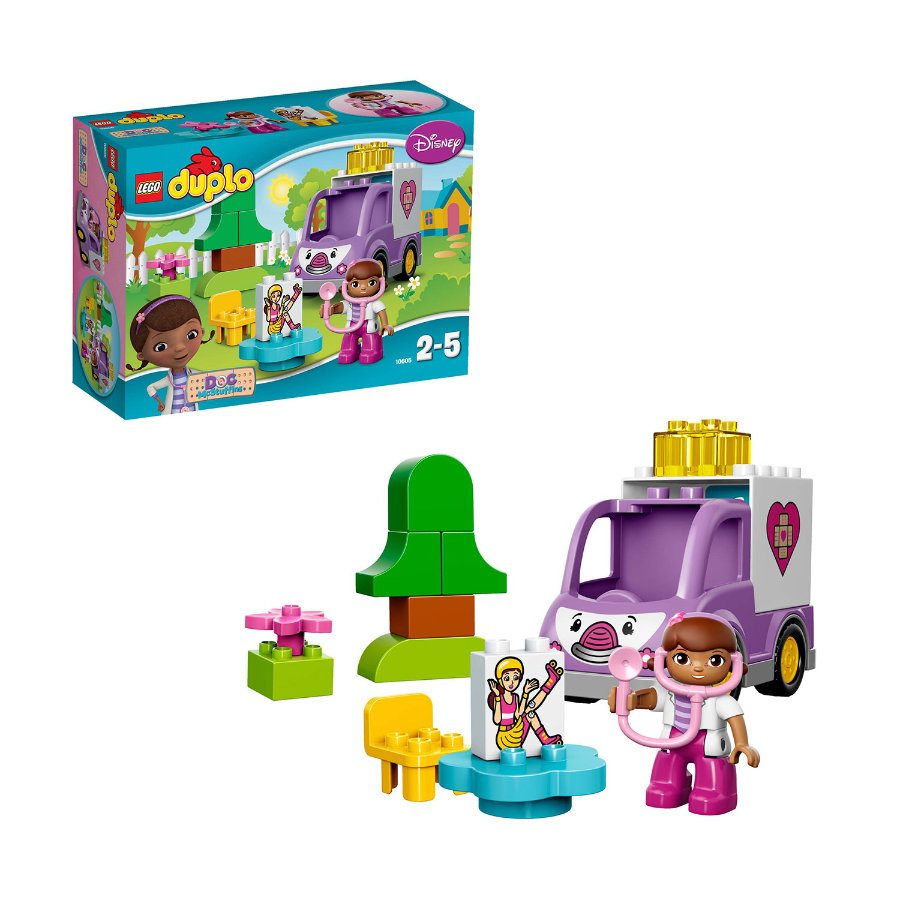 LEGO® DUPLO® Doc McStuffins - Rosie de Ambulance 10605