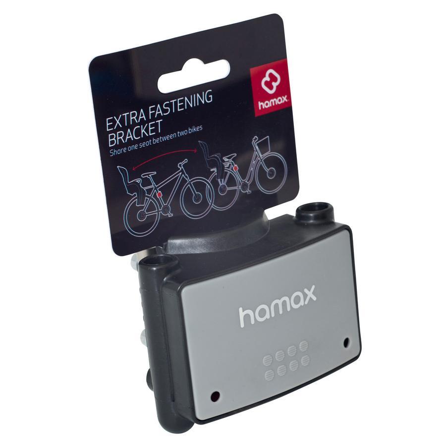 Hamax Montageset zadelbuisbevestiging grijs voor alle modellen