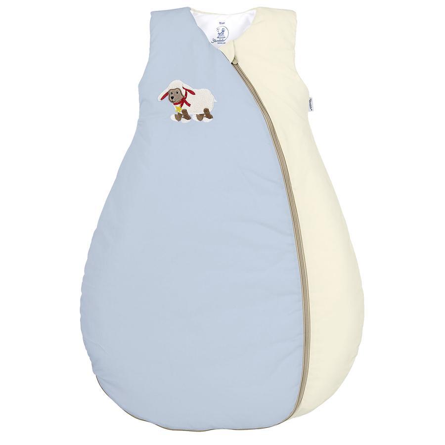Sterntaler Funktionsschlafsack Stanley blau-beige