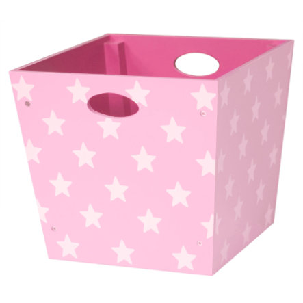 Kids Concept Holzbox Star, rosa