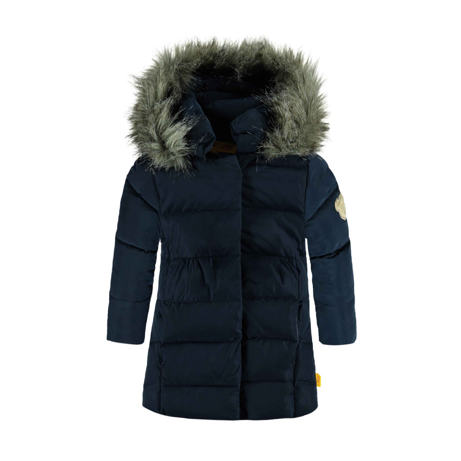 Steiff Girls Jacke black iris