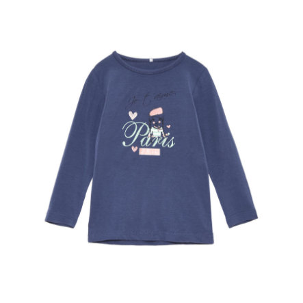 name it Girls Longsleeve Vix vintage indigo