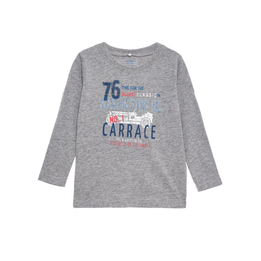 NAME IT Longsleeve Victor Grey Melange