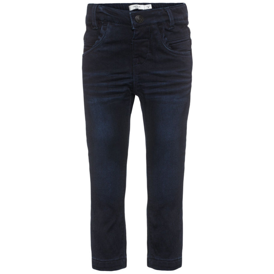 name it Girls Jeans Awarm dark blue denim