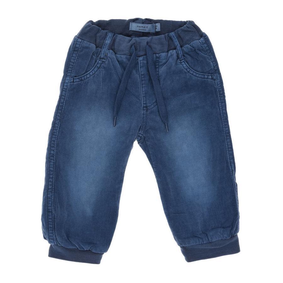 name it Boys Pantaloni in velluto a coste Mikkel dark denim