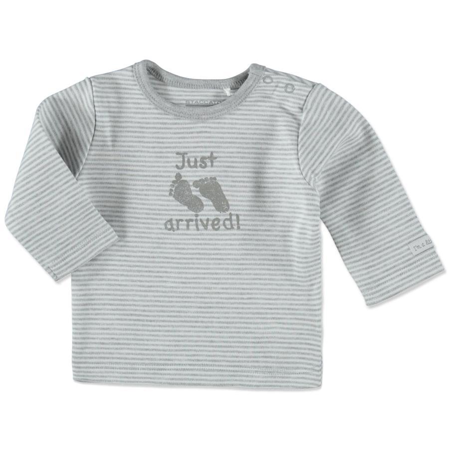 STACCATO Shirt grey Streifen