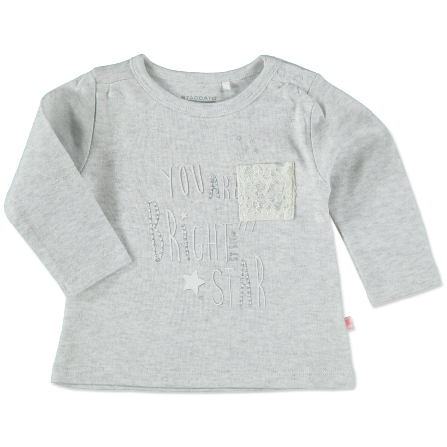STACCATO Girls Tunika soft grey melange