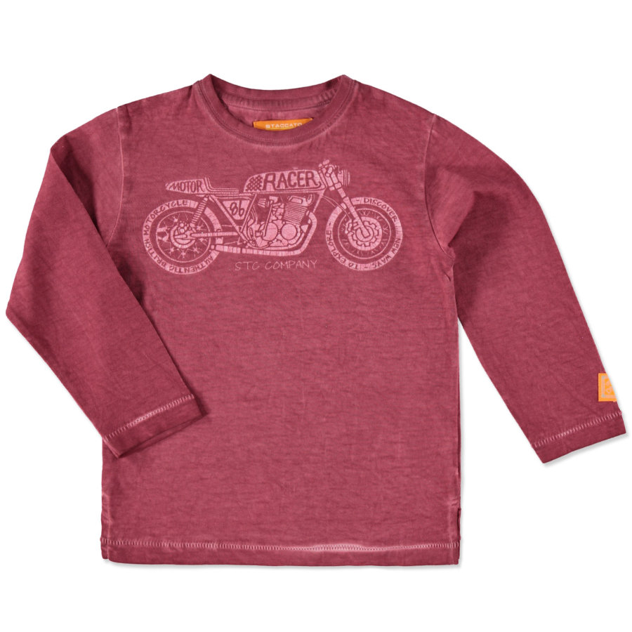 STACCATO Boys Shirt red melange