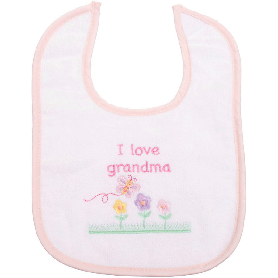 BIECO Bavoir I love Grandma, fille