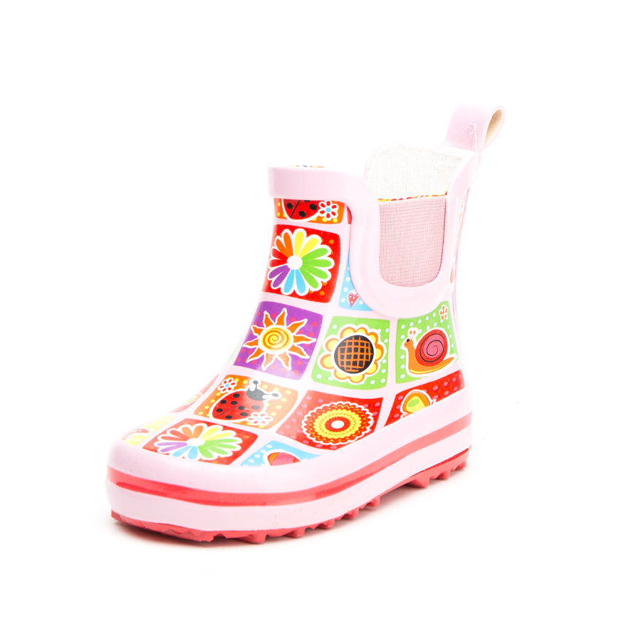 Stivale in gomma Beck Girl s Memory pink