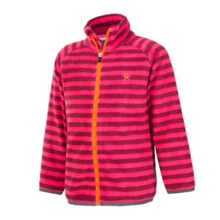 COLOR KIDS Fleecejacke Vilbur Beet Red