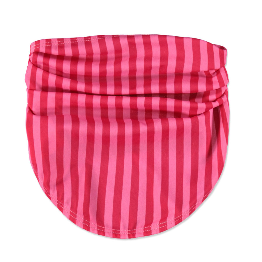 LÄSSIG Dívčí sluneční šátek Bandana pink stripes
