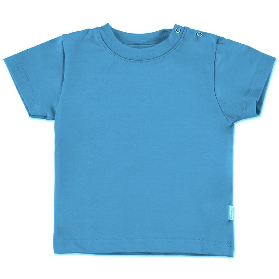 maximo Camicia manica corta blu mediterraneo