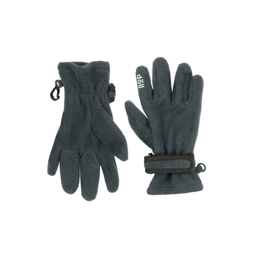 Döll Fingerhandschuhe Fleece dark shadow
