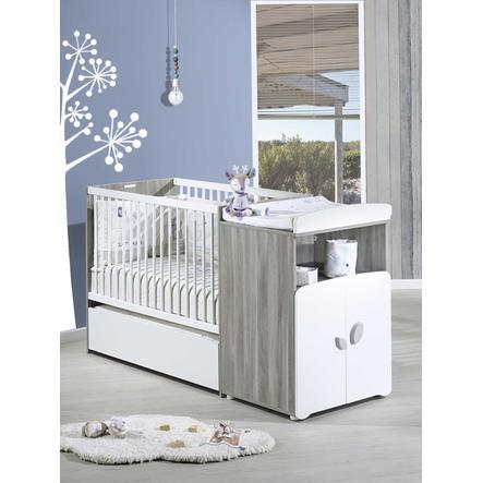 Baby Price Lit enfant évolutif New Leaf 60x120 cm/90x190 cm