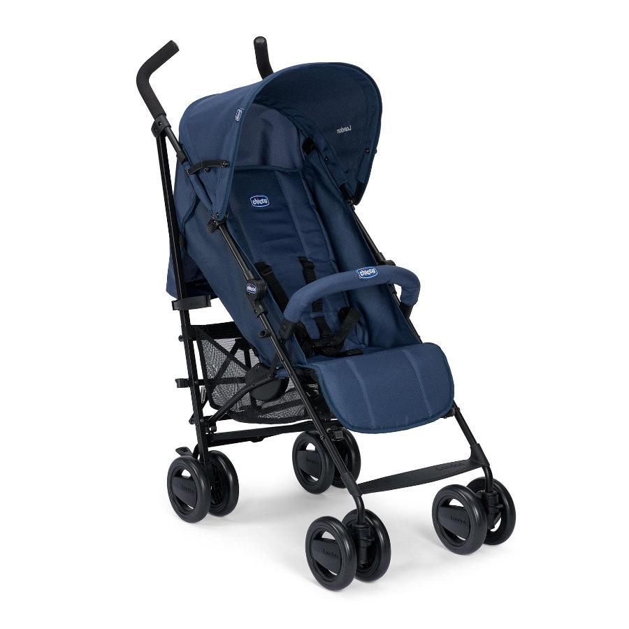 chicco Buggy London Up Blue Passion inklusive faltbarem Frontbügel