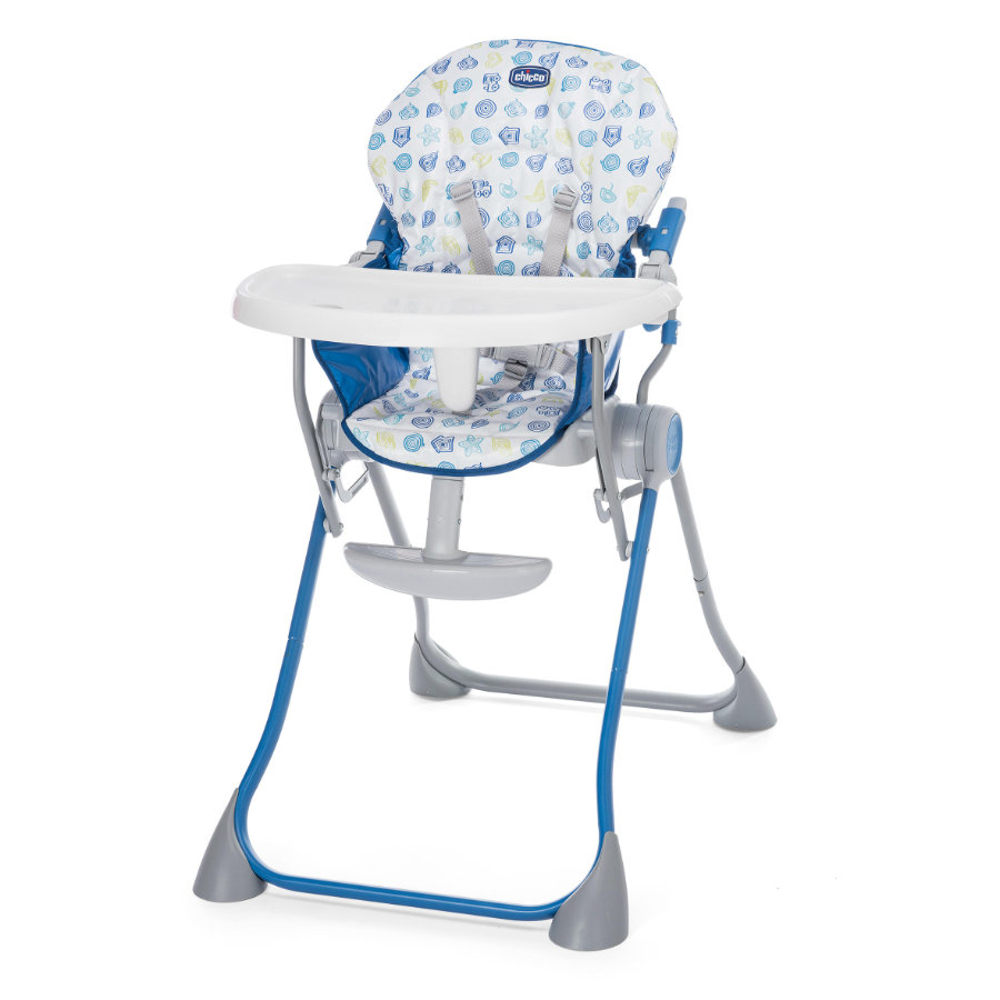 CHICCO Chaise haute Pocket Meal Blue