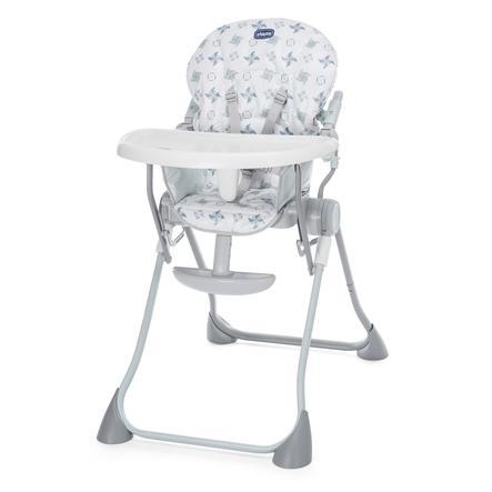 chicco Jídelní židlička Pocket Meal 2017 Light Grey