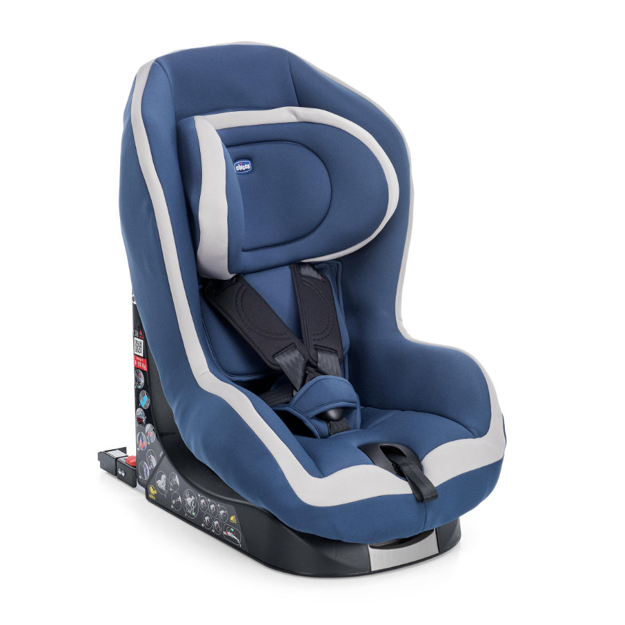 chicco Kindersitz Go-One Isofix Gr. 1 Blue