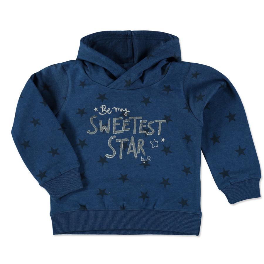 STACCATO Girl s sudadera con capucha jeansblue mélange