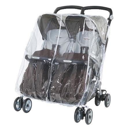 Peg-Perego Protection pluie poussette Pliko Mini Twin, Aria Shopper Twin