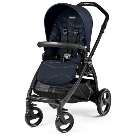 Peg-Pérego Sportwagen Book Plus Sportivo Bloom Navy - Gestell matt-schwarz
