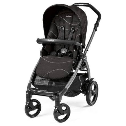Peg-Pérego Sportwagen Book 51 Sportivo Bloom Black - Gestell 51 jet (anthrazit)