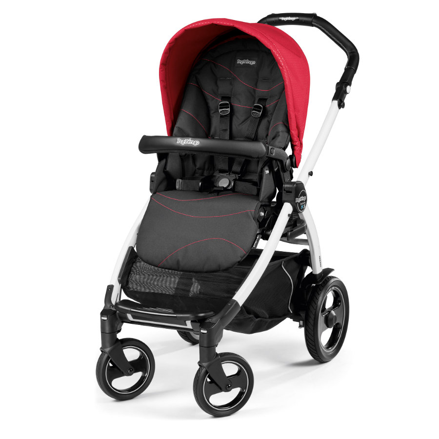 Peg-Pérego Sportwagen Book 51S Sportivo Bloom Red - Gestell 51S weiß