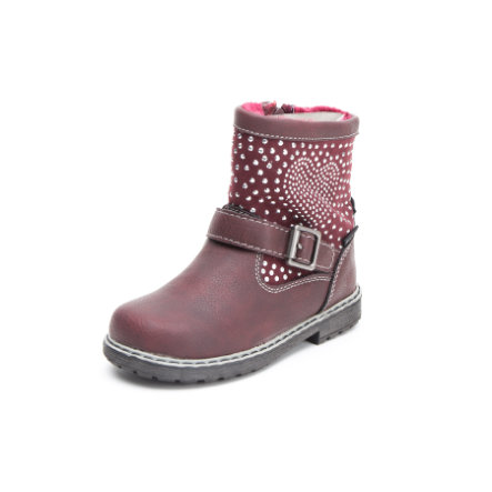 Be Mega Girls Stiefel dunkelrot