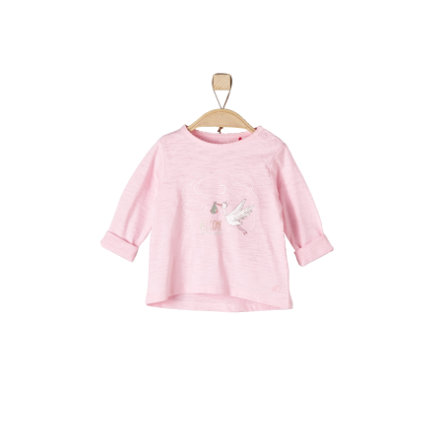 s.Oliver Långärmad tröja light pink