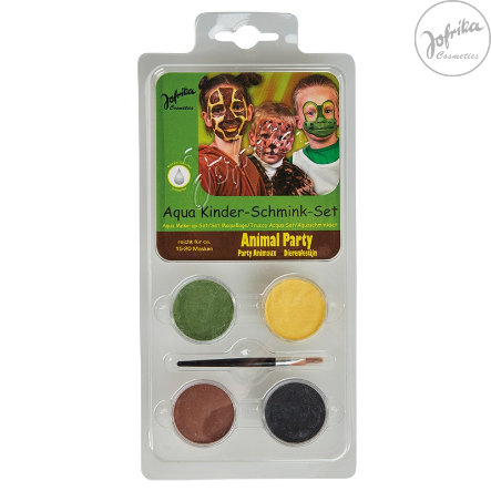Jofrika Schminke Karneval Aqua Kids make-up Set Animal Party