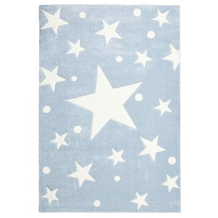 LIVONE Spiel- und Kinderteppich Happy Rugs Stars blau 120 x 180 cm