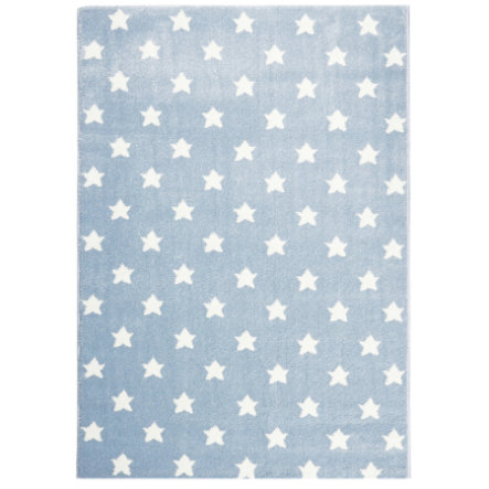 LIVONE Tapis enfant Happy Rugs Little Stars bleu