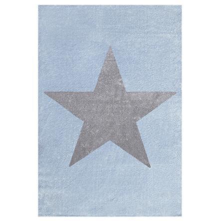LIVONE Spiel- und Kinderteppich Happy Rugs Star blau 160 x 230 cm
