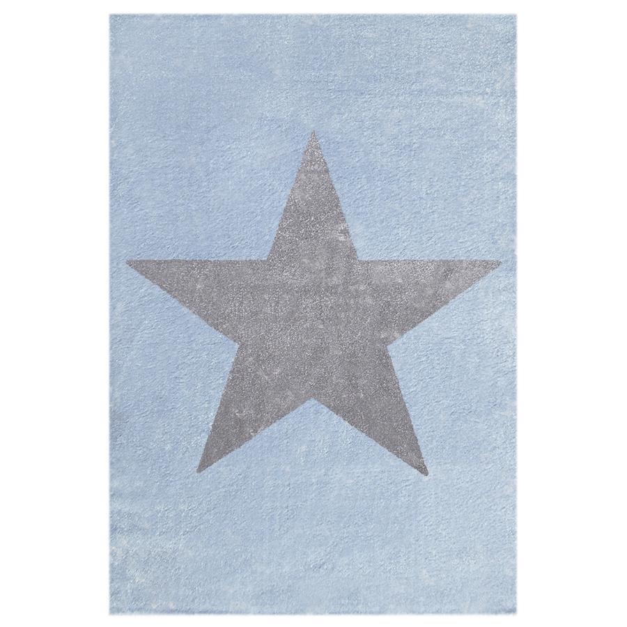 LIVONE Dětský koberec Happy Rugs Star modrý 160 x 230 cm