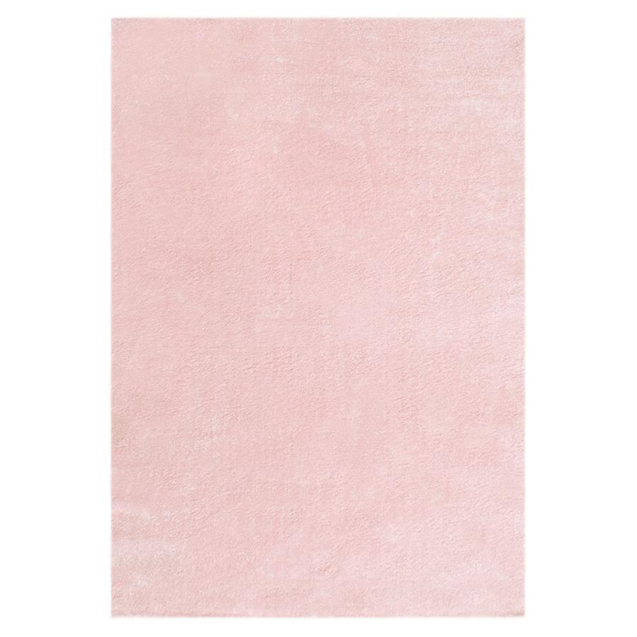 LIVONE Kinderteppich Happy Rugs Unifarben rosa 160 x 230 cm
