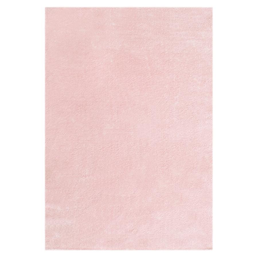 LIVONE Spiel- und Kinderteppich Happy Rugs Unifarben rosa 160 x 230 cm