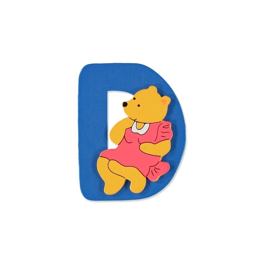 """BIECO Medvědí písmenko """"D"""""""