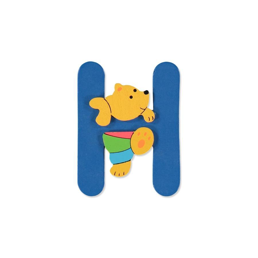 """BIECO Medvědí písmenko """"H"""""""