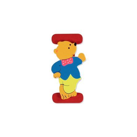 """BIECO Medvědí písmenko """"I"""""""