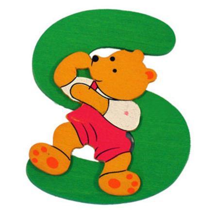 """BIECO Medvědí písmenko """"S"""""""