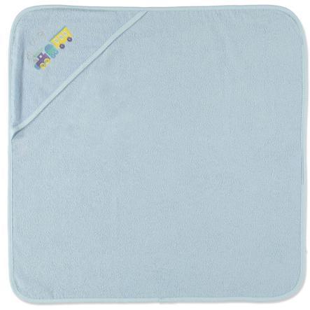 HAT & Koupelnový ručník s kapucí CO modrý 75 x 75 cm