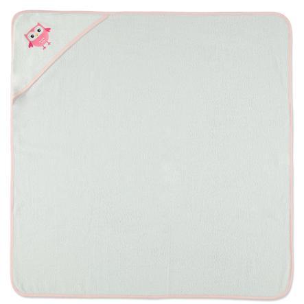 HAT &   CO-hettehåndkleugle hvit 100 x 100 cm